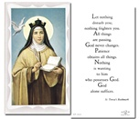 St. Terese of Avila Holy Cards