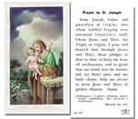 St. Joseph Holy Cards