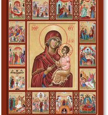 Life of Mary Icon