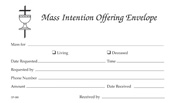 Mass Intention Envelopes