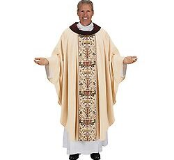 Ivory Chasuble