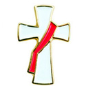 Deacon Cross Lapel Pin