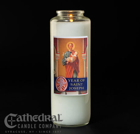 Year of St. Joseph Candle